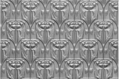 Waratah Pressed Metal Ceiling Panel - (wall panel, fixed horizontally)